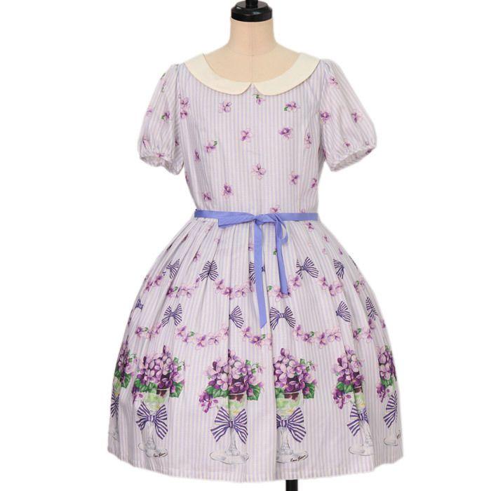 Worldwide shipping available ♪ Leur Getter ☆ ·. . · ° ☆ Flower Cocktail Sleeved dress Https://www.wunderwelt.jp/en/products/w-18207  IOS application ☆ Alice Holic ☆ release Japanese: https://aliceholic.com/ English: http://en.aliceholic.com/