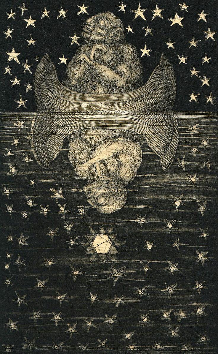 Ernst Fuchs, Die Symbolik des Traumes (G.H. von Schubert), 1968.