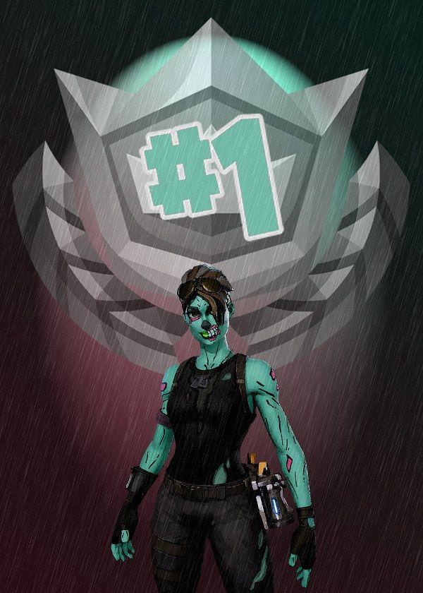 Number 1 Ghoul Trooper By Gemini Phoenix Metal Posters In