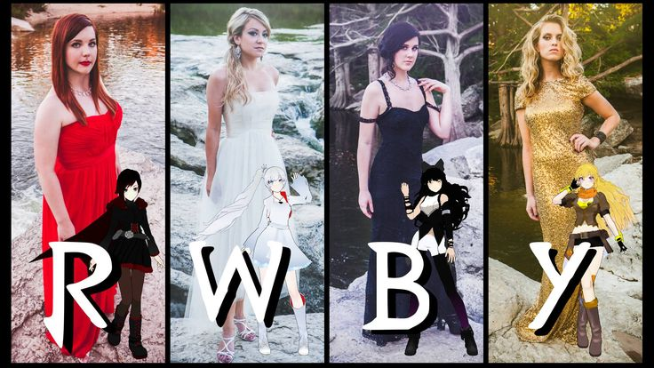 Actual actresses from RWBY