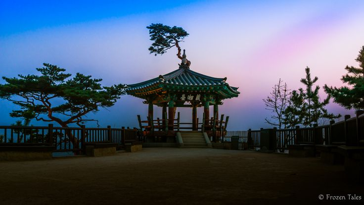 https://flic.kr/p/TqNKYE | Anticipation of a sunrise | The moment before the sunrise... all is calm and peaceful. Naksansa Temple, Gangwon-do, South Korea overlooking the East Sea (Sea of Japan) welcoming a new day.