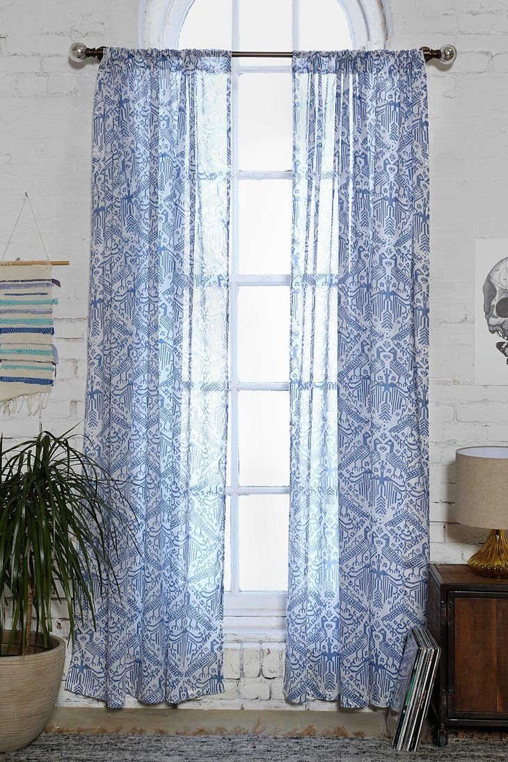 Magical Thinking Aviary Curtain Urban Outfitters Windows Pinterest Urban Outfitters