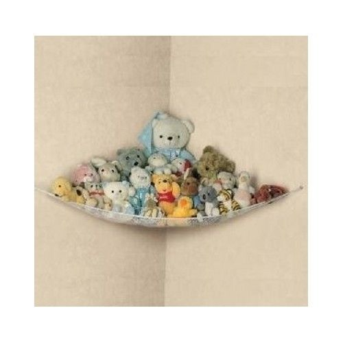 Toy Hammock Net Stuffed Animals Organize Toys Organizer Storage Pet Corner Kids