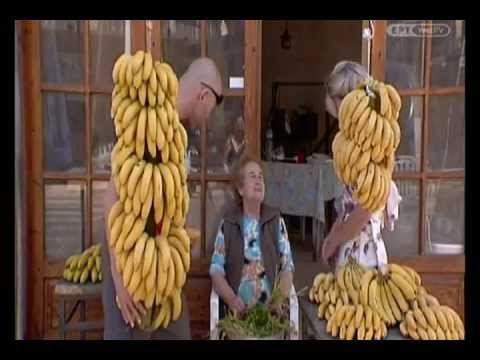 The old Town of Malia in Menoume Ellada TV Show