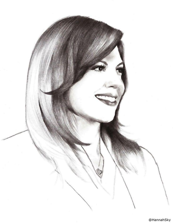 image Sasha grey pencil drawing