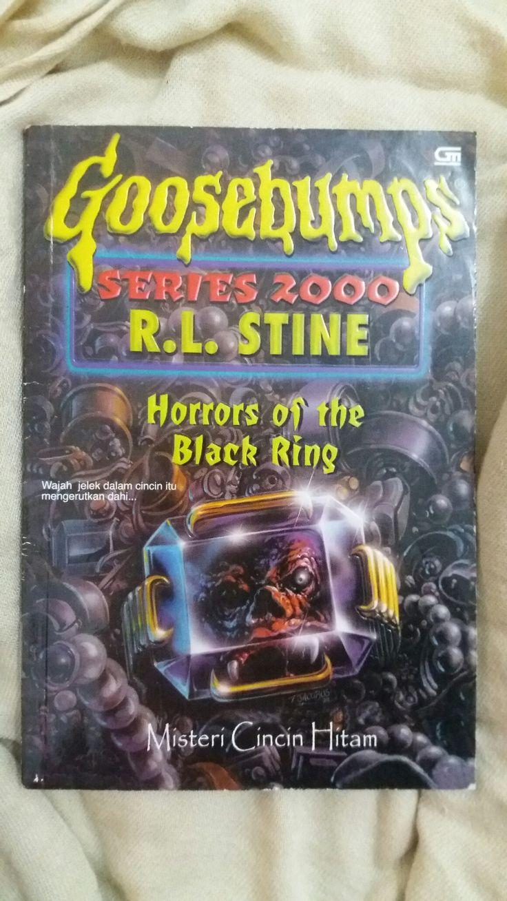 GOOSEBUMPS Horrors of the Black Ring ✏ R. L. Stine