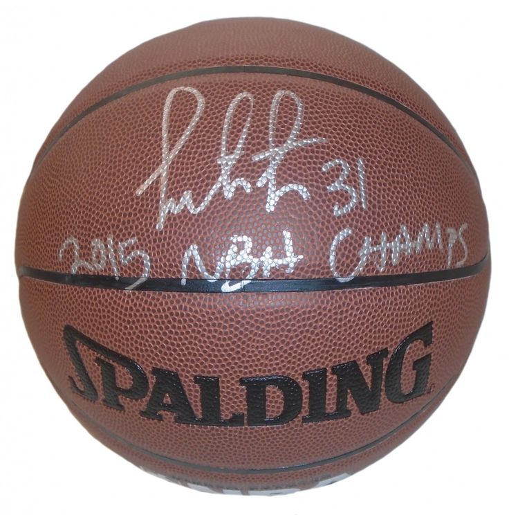 "Festus Ezeli Autographed Spalding NBA Indoor / Outdoor Basketball w/ Inscription!. Festus Ezeli Autographed NBA I/O Basketball Featuring ""2015 NBA Champs"" Inscription! Golden State Warriors, Proof  This is a brand-new custom Festus Ezeli autographed NBA Spalding indoor/outdoor basketball featuring ""2015 NBA Champs"" inscription!  Festus signed the basketball in silver paint pen. Check out the photo of Festus signing for us. ** Proof photo is included for free with purchase. Please click on…"