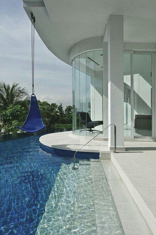 Moderne architektenhäuser mit pool  259 besten homes Bilder auf Pinterest