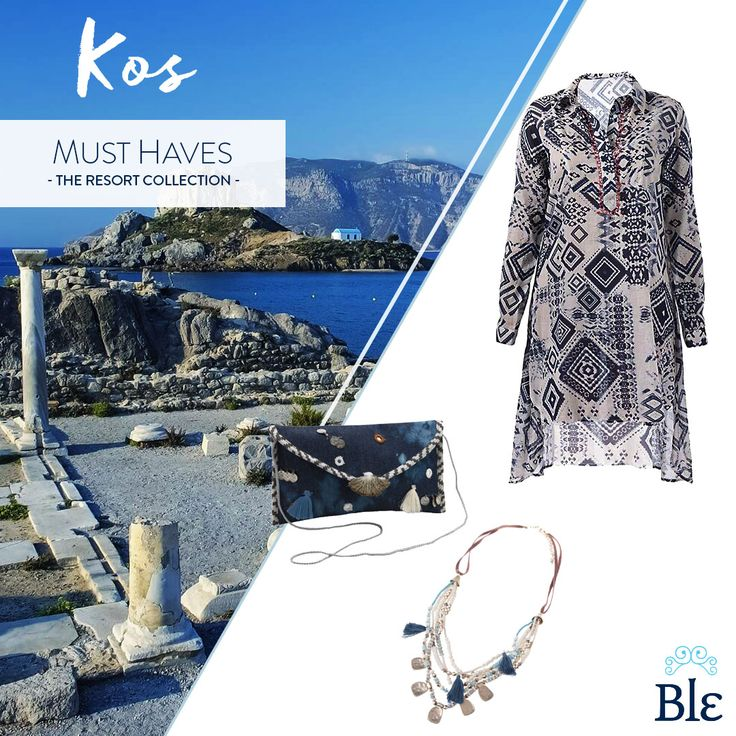 Vibrant elegance! That's what your style is all about when vacationing in beautiful #Kos ! See the complete Blε Resort Collection here   Vibrant elegance! That's what your style is all about when vacationing in beautiful #Kos ! See the complete Blε Resort Collection here https://www.facebook.com/BleCollection/photos/a.1998130553744935.1073741  #BleResortCollection #BleSummer #SummerClothes #SummerOutfit #SummerStyle #Style #Fashion #GreekSummer #GreekIslands #SummerHolidays #Holidays