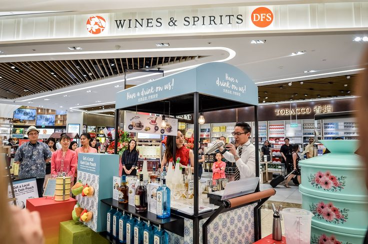 DFS officially unveils new Changi T4 Wines and Spirits store