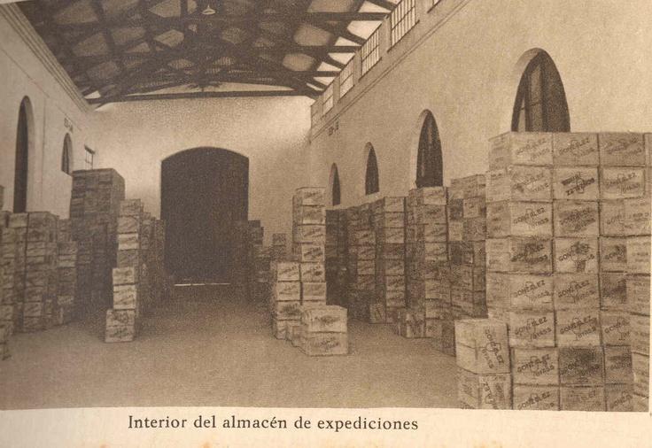Interior del almacén de Expediciones.