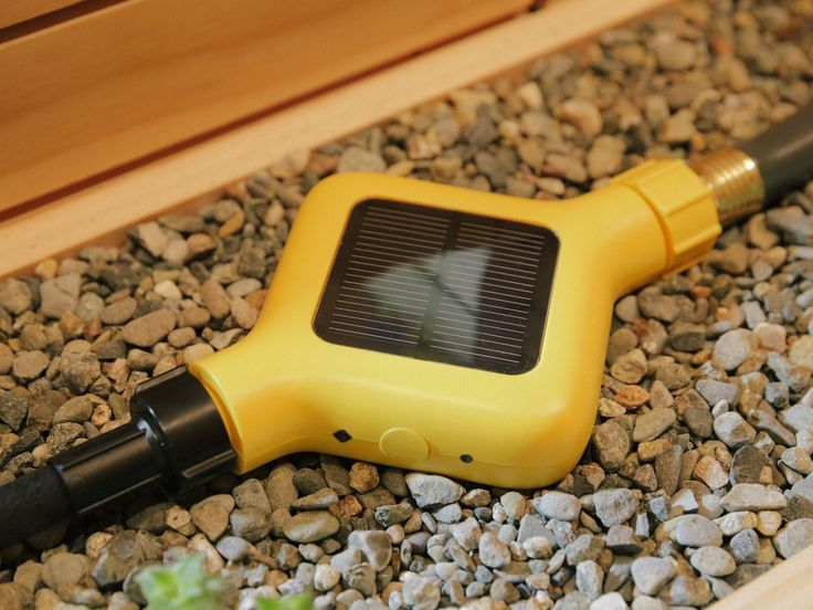 EDYN WATER VALVE - If you don't have an in-ground sprinkler system installed at your home, you do have a couple of options to smarten up hose-fed sprinklers. The $70 Edyn Water Valve screws onto an ordinary hose and works with the Edyn Garden Sensor to give your plants the amount of water they need.
