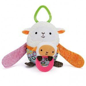 Zabawka do wózka Hug & Hide – Owca od Skip Hop :) Jak nie kochać takich śliczności?? No jak? #skiphop #dziecko #zabawki #dziecinstwo