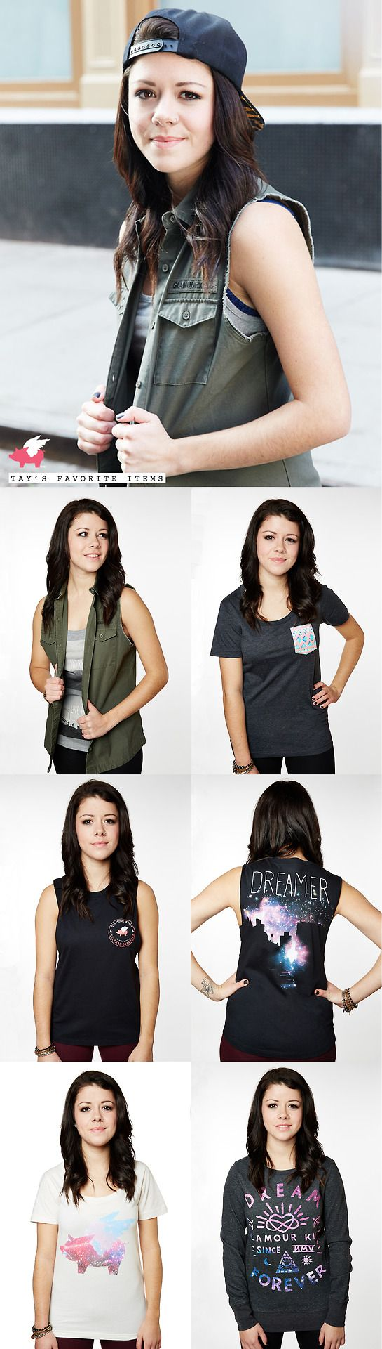 Tay Jardine for Glamour Kills