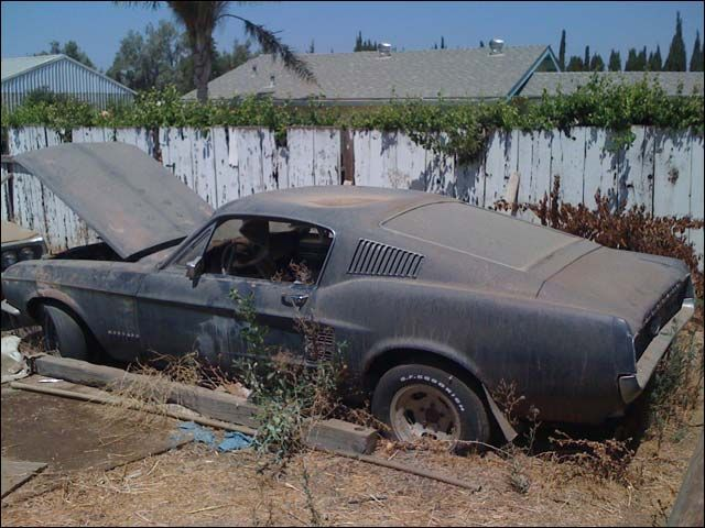 Someone's project car. (67 mustang for sale - Google Search