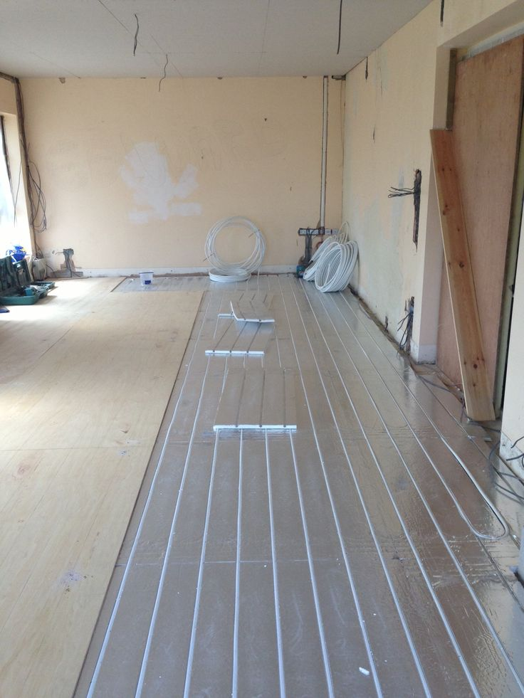 25 best ideas about underfloor heating systems on for Best heating source for home