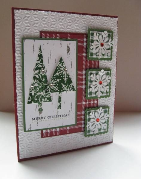 treeChristmas Cards, Cards Ideas, Pattern Pine, Flats Belly Diet, Cards Layout, Christmas Trees, Pine Sets, Cards Templates, Frostwood Dsp
