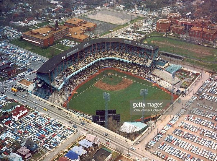 Kansas City A's Municipal Stadium 20th and Brooklyn
