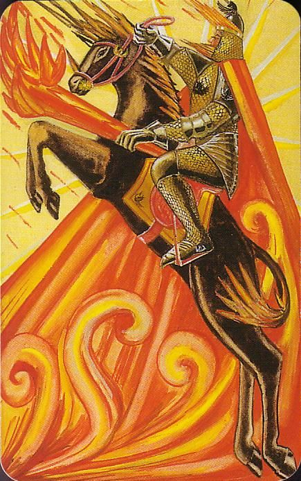 Aleister Crowley Tarot - King of Wands