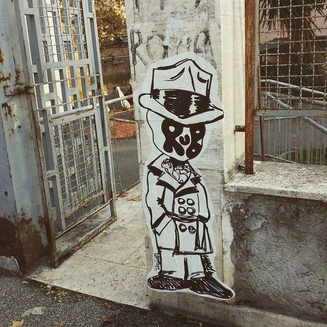 Omino 71 Italian Street Artist - Roma (IT) - 01/2015 - |\*/| #omino71 #streetart