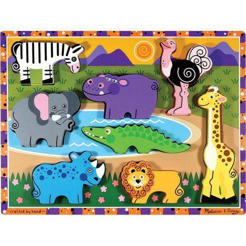 Melissa & Doug Deluxe Wooden Safari Chunky Puzzle Melissa & Doug http://www.amazon.com/dp/B000E9DPVI/ref=cm_sw_r_pi_dp_W3b3ub1X8AKA9