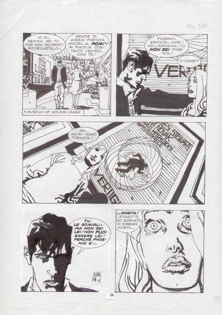 Dylan Dog Nicola Mari - Phoenix 29 Comic Art