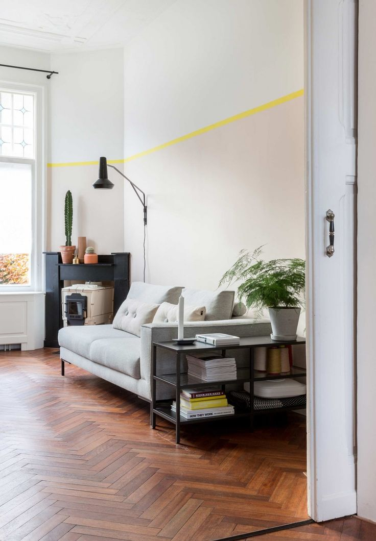 Visgraatvloer   Floor   Special 'aan de muur'   Fotografie Hans Mossel   Styling Sabine Burkunk
