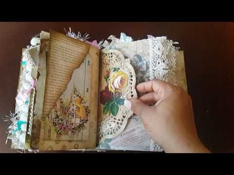 TUTORIAL - 7 SIGNATURES - Secret Pocket Pages for Junk Journals - YouTube