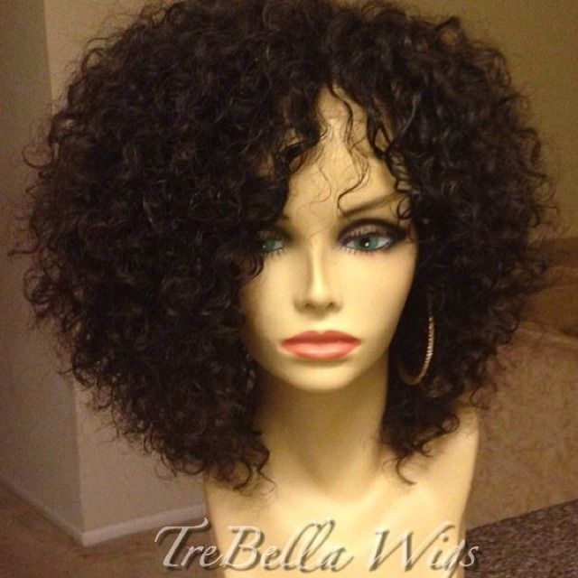 TreBella Full unit. Specs: Two bundles of Deep Wave Curly from Exotic Hair