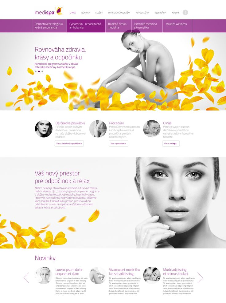 Medispa Branding and Webdesign Project