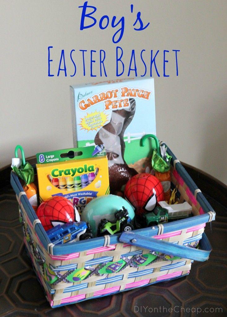 48 best easter basket ideas images on pinterest easter bunny boys easter basket ideas negle Choice Image