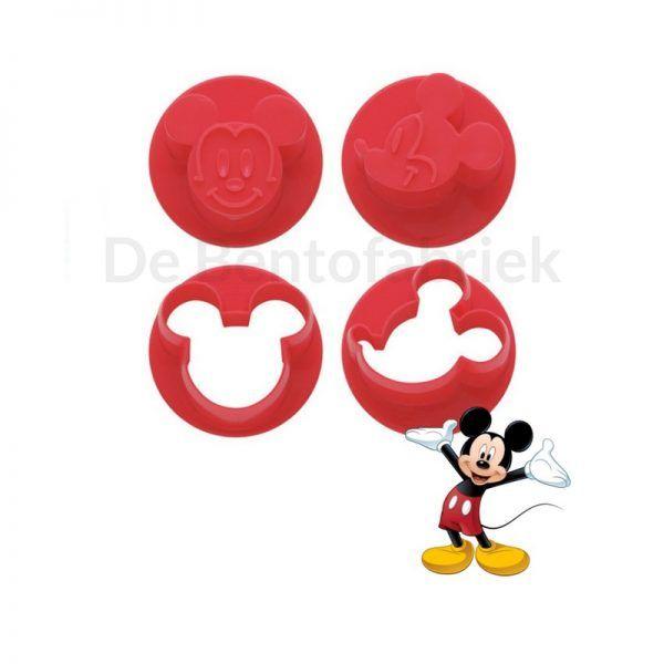 Mickey Mouse uitstekers Groente, fruit en koekjes