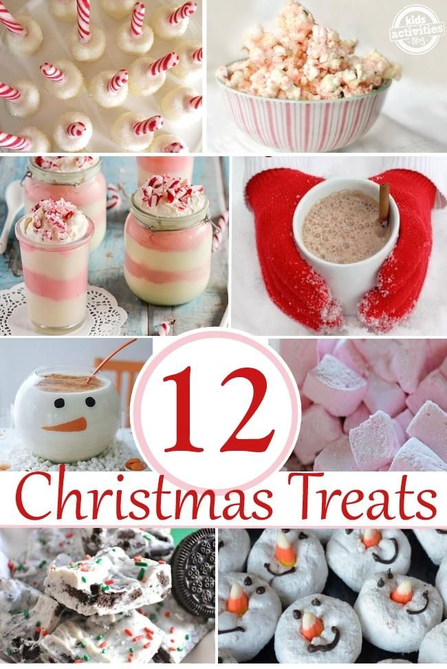 12 Tasty Christmas Treats - love all these sweet ideas for holiday food {my favorite part of the holidays}