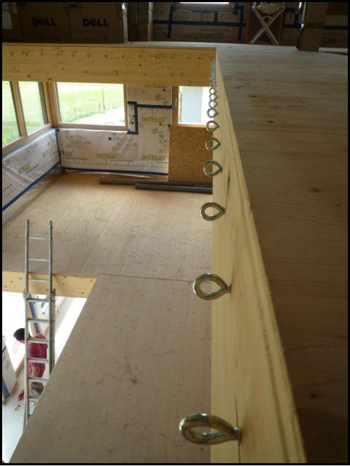 Maison Nezrouge /// Second œuvre : Mezzanine et filet d'intérieur