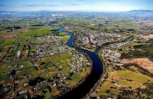 Waikato Awa (river) running through Waikato, where I was born.
