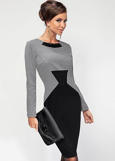 This is so sharp! I would like it even more if it was reversed with the hounds tooth print on the bottom!