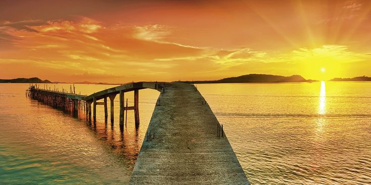Home affaire Leinwandbild orange, (B/H): 100/50cm, »Olga Khoroshunova: Sonnenaufgang über dem Meer mit Pier« Jetzt bestellen unter: https://moebel.ladendirekt.de/dekoration/bilder-und-rahmen/bilder/?uid=f1616580-73ce-5d27-8e2b-c42f6f9cbfad&utm_source=pinterest&utm_medium=pin&utm_campaign=boards #bilder #rahmen #dekoration