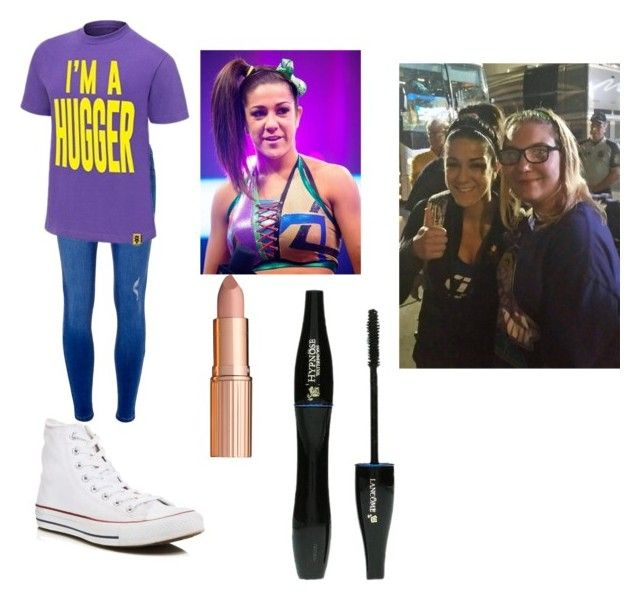 """Meeting my role model/inspiration wwe nxt Bayley"" by wwefangirl2020 ❤ liked on Polyvore featuring Dorothy Perkins, Converse, WWE, Charlotte Tilbury and Lancôme"