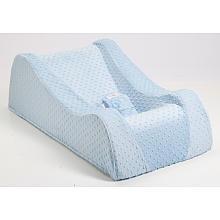 Nap Nanny Chill Portable Recliner - Minky Blue