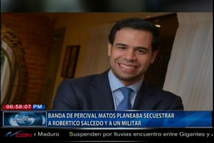 Banda De Jhon Percival Planeaba Secuestrar A Roberto Ángel Salcedo