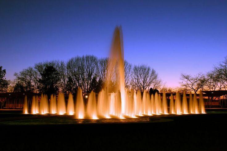 Queen Elizabeth Park Vancouver   ... - Photo of water fountain at Queen Elizabeth Park,Vancouver,B.C