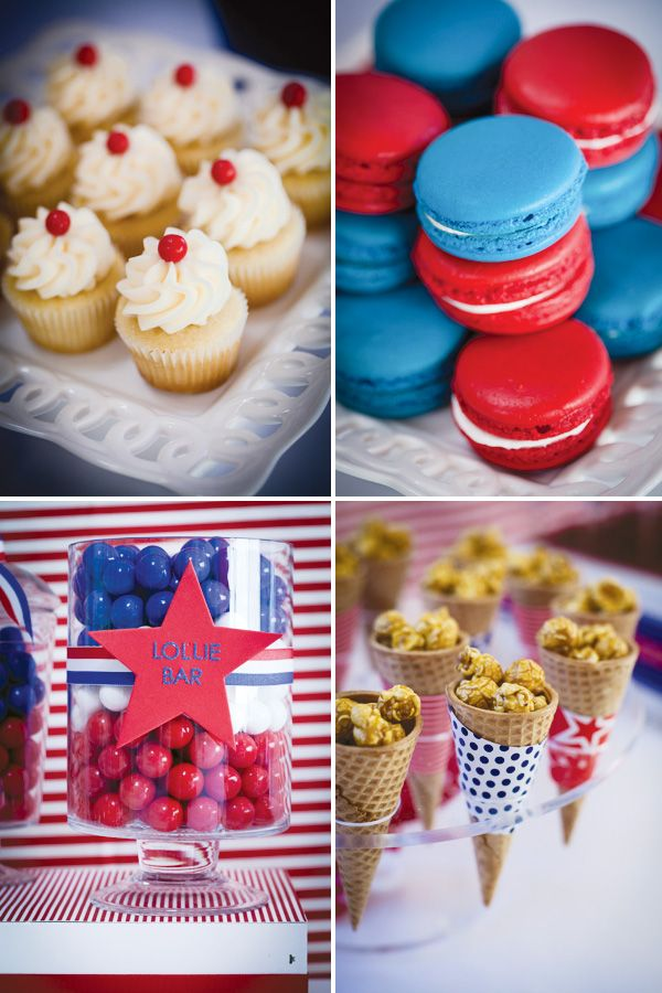 {Patriotic} Red, White & Blue Aussie Party! // Hostess with the Mostess®