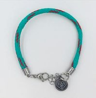Recycled Marine Rope Bracelet - Red