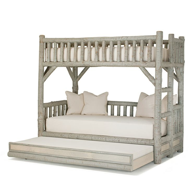 Wood bunk beds with trundle woodworking projects plans for Bunk bed woodworking plans