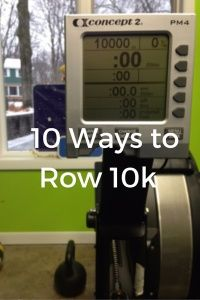 Sail through your big indoor rowing workouts with these 10 strategies to get you through a 10k row. Longer workouts don't have to be boring!