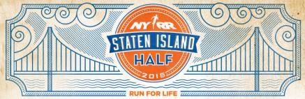 Run Staten Island Half October Half Marathon NYRR 5 Borough Series. In 2015, theNYRR Five-Borough Serieswill once again finish with the Staten Island Half, a race dedicated to making a positive i...