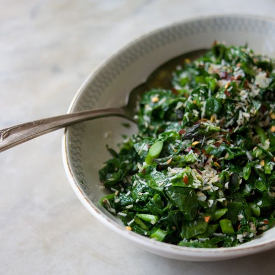 Spiced Coconut Spinach As I mention up above, this spinach makes a ...