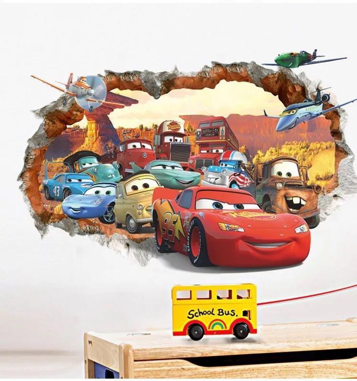 Best Minions Images On Pinterest Wall Sticker Bedroom Boys - Wall decals carscartoon cars break through wall art mural decor sticker cracked