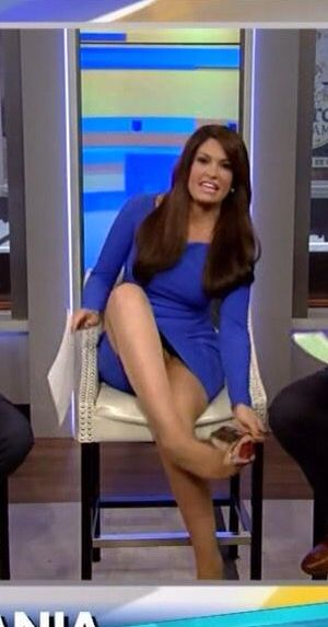 kimberly guilfoyle   legs tan pantyhose and gold heels