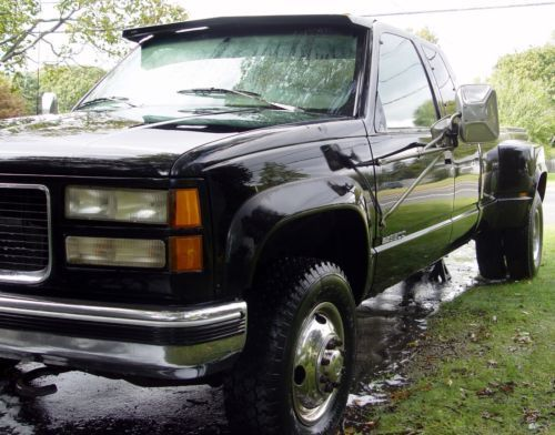 1995 Gmc Sierra 3500 Sle Pickup Truck Old 1990 S Trucks For